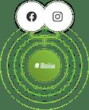 Mettre sa musique sur Instagram et Facebook Logos