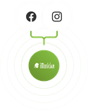 Get Music on Instagram and Facebook