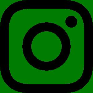 Instagram logo black white